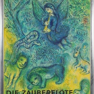 After Marc Chagall (Russian-French, 1887-1985) Die