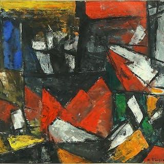 Constantine Pougiali (Greek-American, 1894-1985)