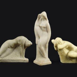 Vincent Glinsky (Russian, 1895-1975) Three Nudes.