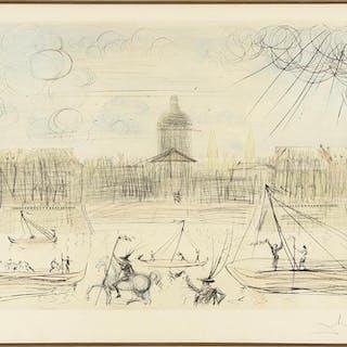 Salvador Dali (Spanish, 1904-1989) Academie des Beaux