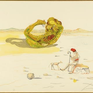Salvador Dali (Spanish, 1904-1989) Desert Watch.