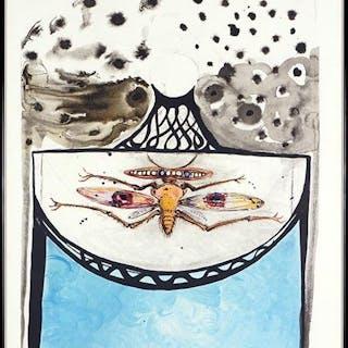 Salvador Dali (Spanish, 1904-1989) Arlequin.