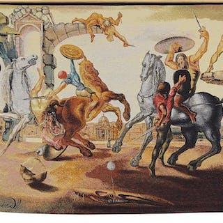 Salvador Dali (Spanish, 1904-1989) Battle Around a