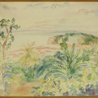 Boulard de Villeneuve (French, 1884-1971) La Rade a