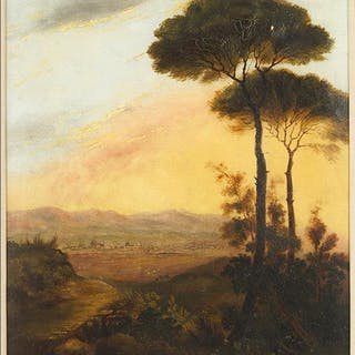 Artist Unknown (British, 19th Century) A Distant View