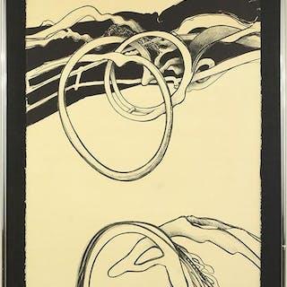 Richard Hunt (American, B. 1935) Composition.