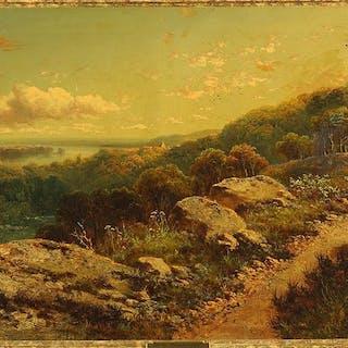 Edmund John Niemann (British, 1813-1876) On the Wharfe