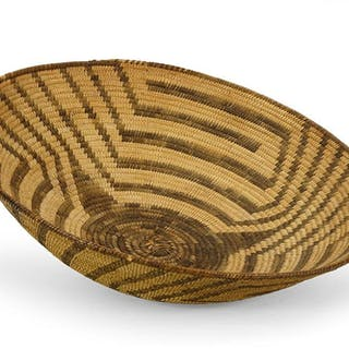 A Pima Round Tray.