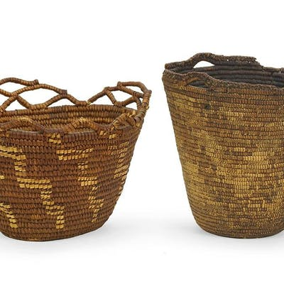Two Klickitat Baskets.