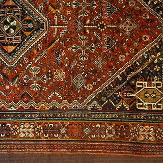 An Abadeh Style Persian Wool Carpet.