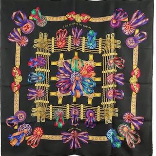 An Hermes Silk Scarf.