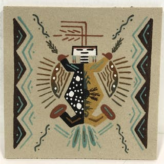 Native american sand art current sales barnebys native american sand art closed auction freerunsca Images