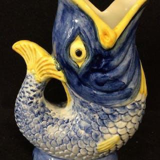 Signed fish Vase Portugal