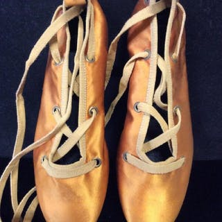 Italian Leather Soled Ballet Slippers