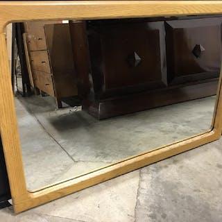 Mantel Mirror in Wood Frame