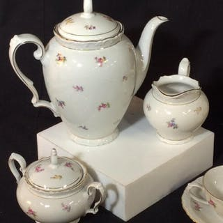 Set 15- Vintage COFFEE Pot Porcelain Set