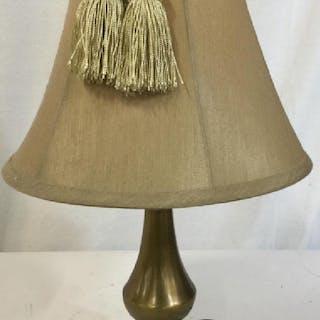 Boudoir Brass Small Tabletop Lamp