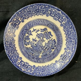 Chinese Canton Porcelain Plate