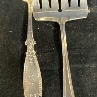 Sterling Silver Spoon and Fork