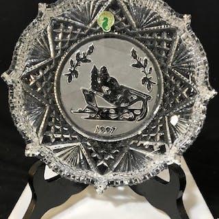 Vintage Waterford Crystal Plate- in original box