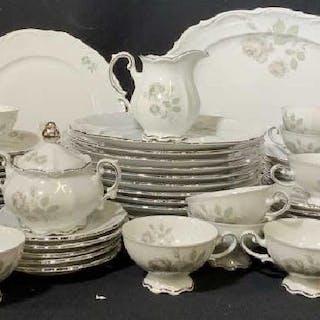 MITTERTEICH German Porcelain Dinner Service Set