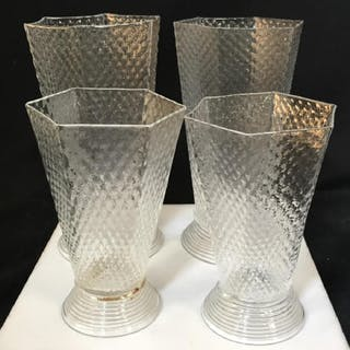 Set 4 Handmade JULISKA Water & Juice Glasses