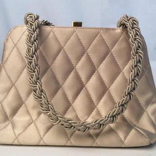 ZENITH Vintage Quilted Silk Handbag