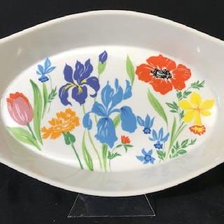 Vintage Porcelain Vegetable Side Dish