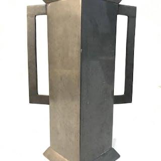 SHEFFIELD ENGLISH PEWTER Handled Vase