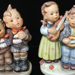 Set 4 W. Goebel & M J. Hummel Vintage Figurines