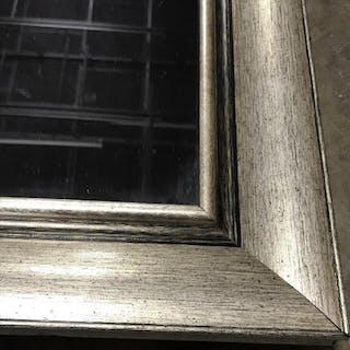 Tall Mirror in Silver Tone Frame