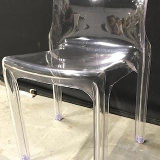 SELENE HELLER Lucite Ghost Chair