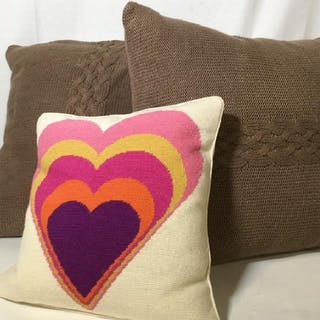 Lot 3 DESIGNER Throw Pillows