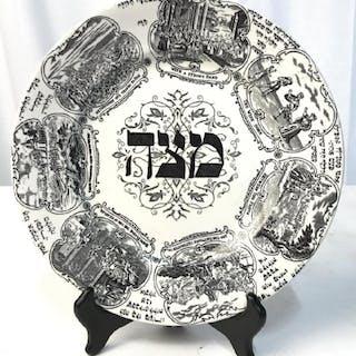 RIDGEWAYS TEPPER Ceramic Passover Seder Plate