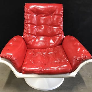 MORRIS FUTORIAN Style MCM Space Age Lounge Chair