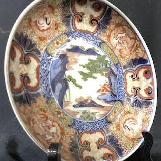 Pair 19th Century IMARI Porcelain Plates