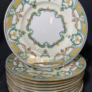 MINTON Porcelain Plate Set , marked England