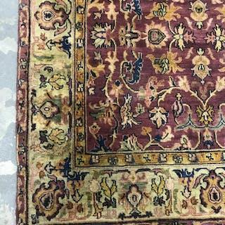 Vintage Hand Made Wool Oriental Carpet