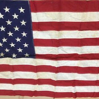 Vintage U.S. American Flag