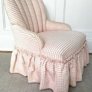Petite Children's Channel Back Chair