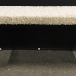 MCM Parsons Style Fully Upholstered Bench