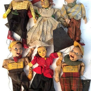 Antique Puppet Dolls