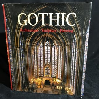Book - Gothic Architecture, Sculpture, Painting