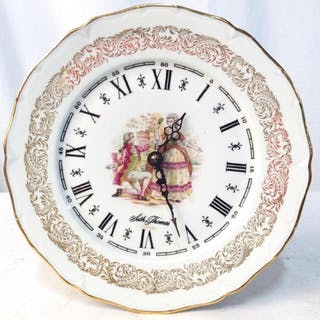 TALLEY INDUSTRIES COMPANY French Plate Clock