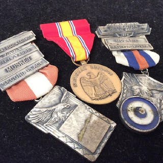 Vintage Group Set Of Military Medals