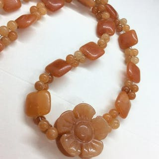 Women's Natural Stone Necklace