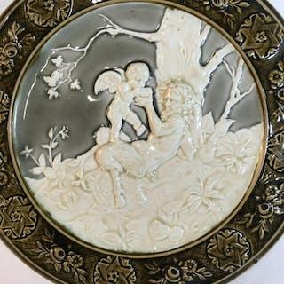 Shuts Gilli Signed Ceramic Wall Platter
