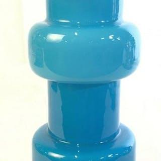 West Elm Turquoise Glass Vase