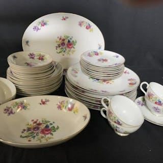 Princess China Porcelain Dinner Service Set