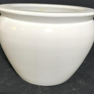 Blanc de Chine Porcelain Planter